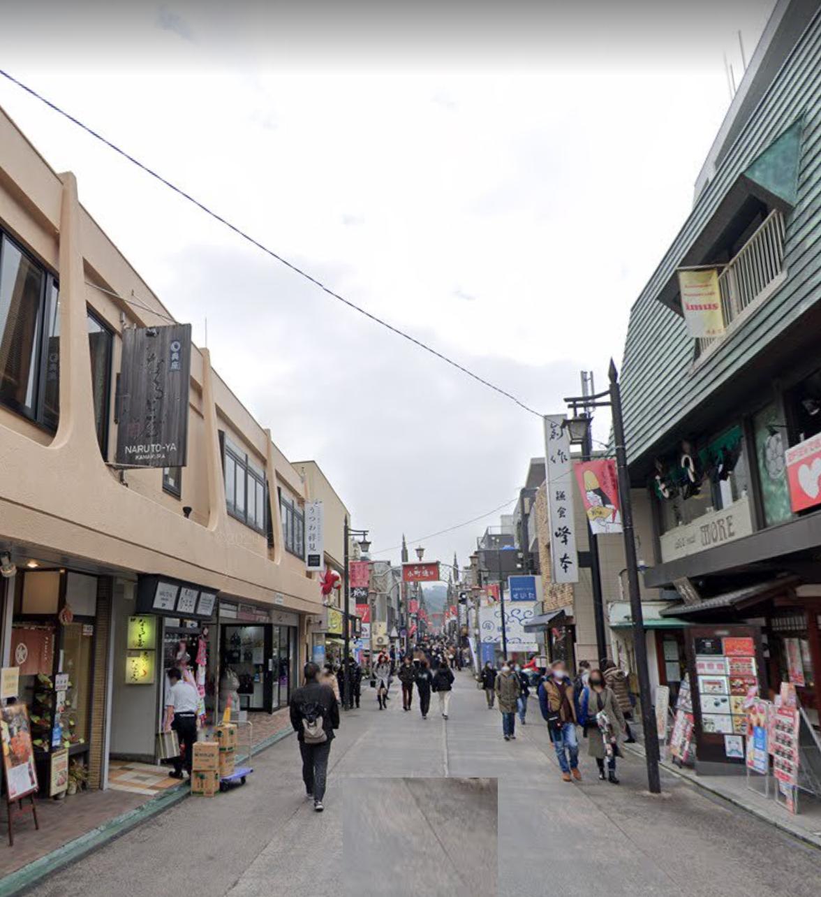 【鎌倉駅】徒歩1分!人気の小町通の居抜き店舗です!!