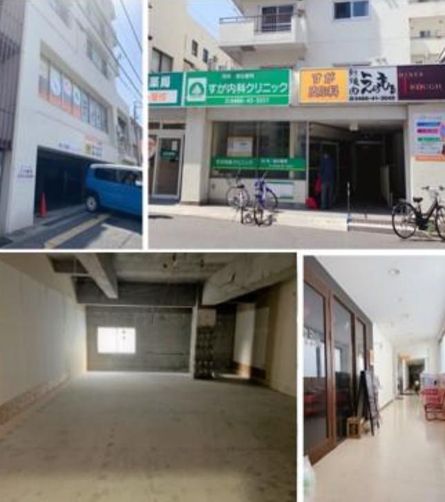 【湘南台】徒歩3分の好立地!/2階店舗ですが、駅側道路は路面となります/約18,6坪