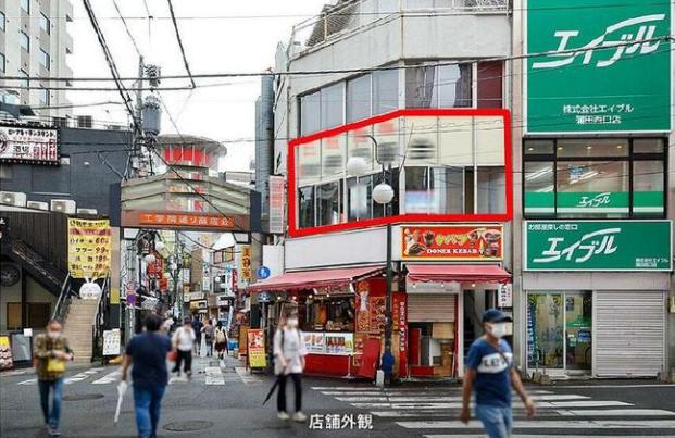 JR京浜東北線【蒲田駅】徒歩1分・工学院通りの2階物件!!蒲田/スケルトン/飲食店